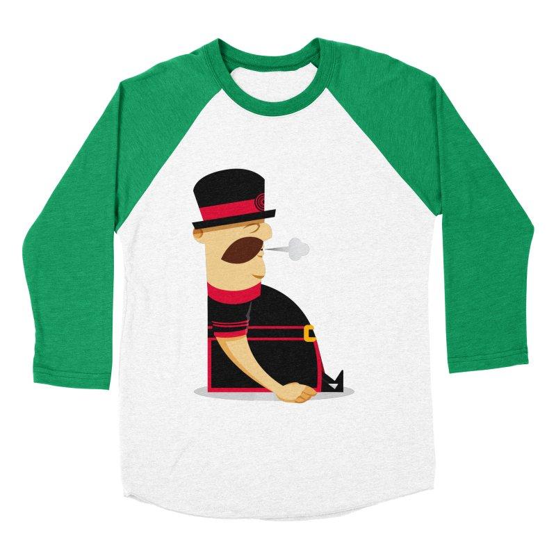 Tired Yeoman Men's Baseball Triblend Longsleeve T-Shirt by Yeoman