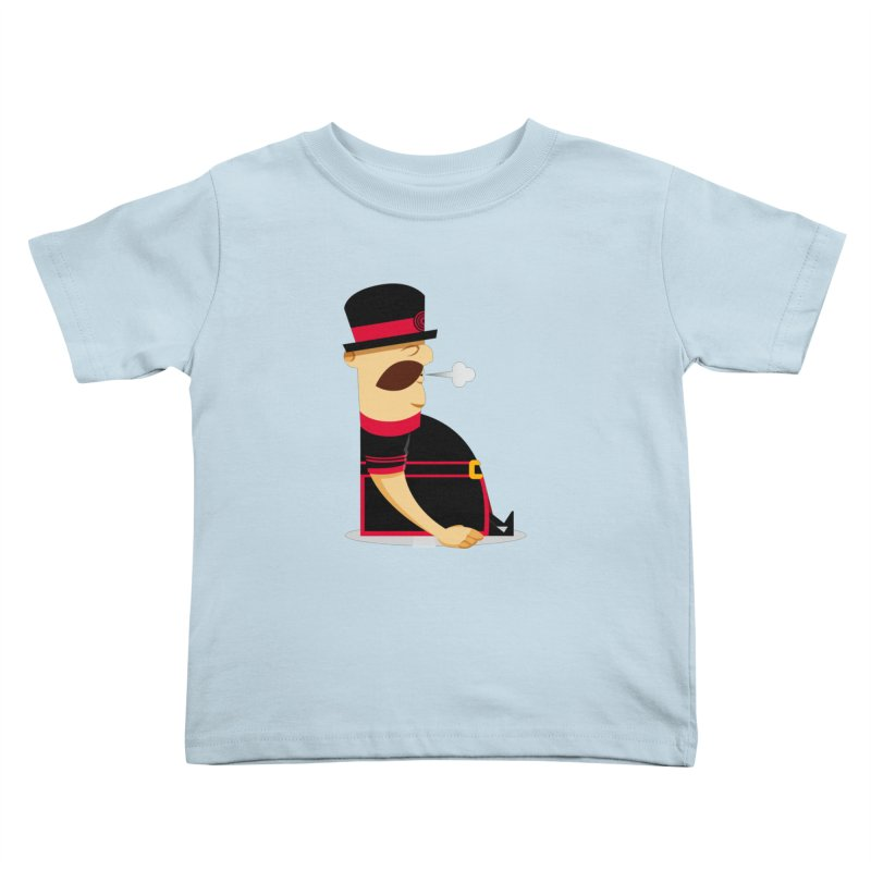Tired Yeoman Kids Toddler T-Shirt by Yeoman