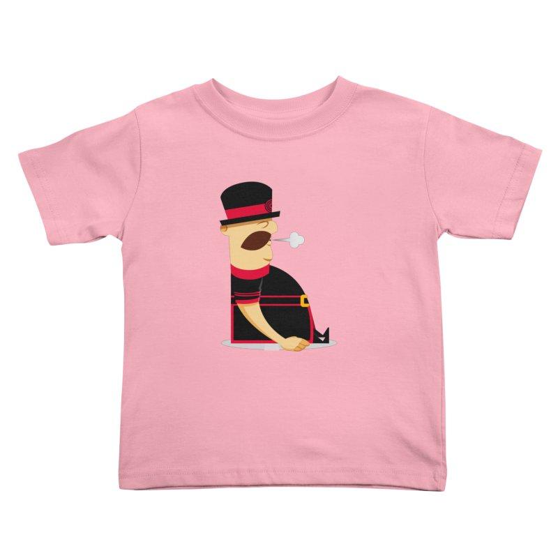 Tired Yeoman Kids Toddler T-Shirt by Yeoman