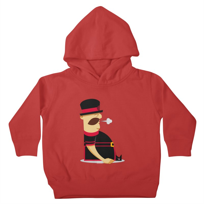 Tired Yeoman Kids Toddler Pullover Hoody by Yeoman