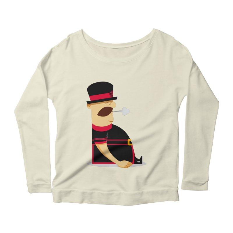 Tired Yeoman Women's Scoop Neck Longsleeve T-Shirt by Yeoman