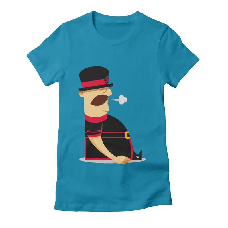 Tired Yeoman Women's Fitted T-Shirt by Yeoman