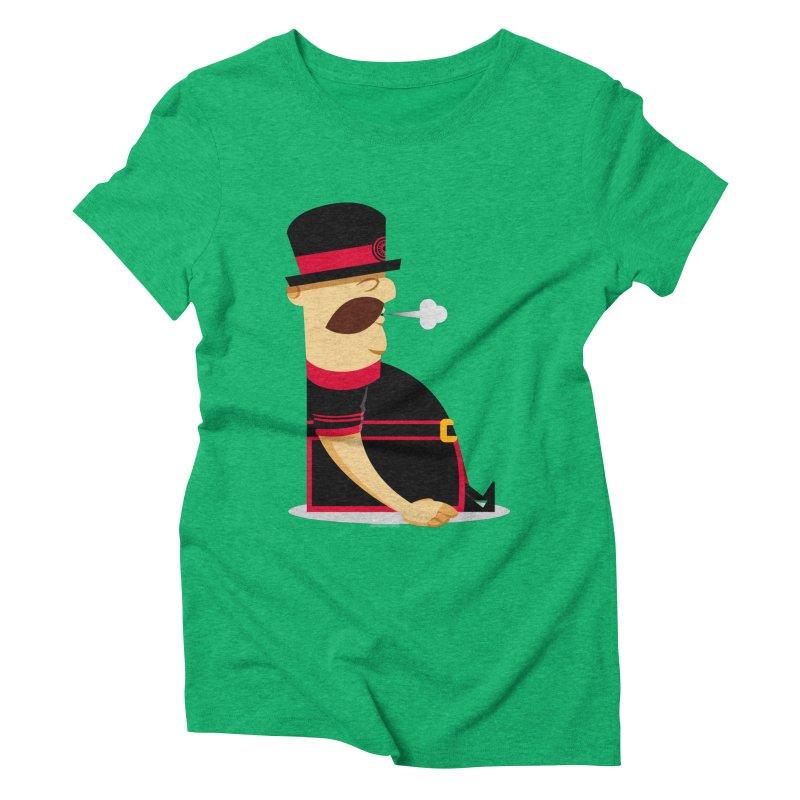 Tired Yeoman Women's Triblend T-Shirt by Yeoman