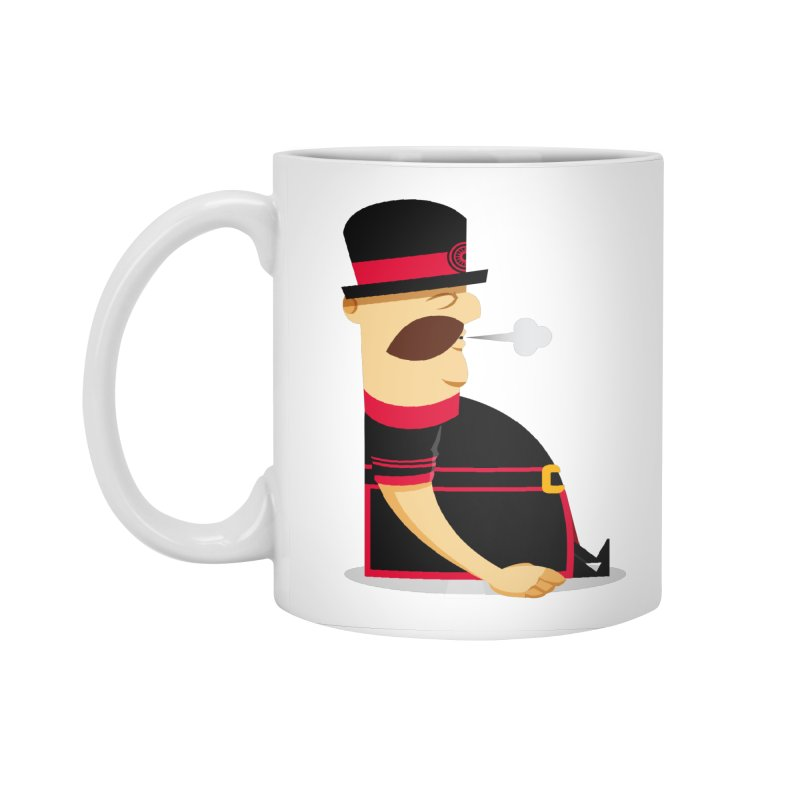 Tired Yeoman Accessories Standard Mug by Yeoman