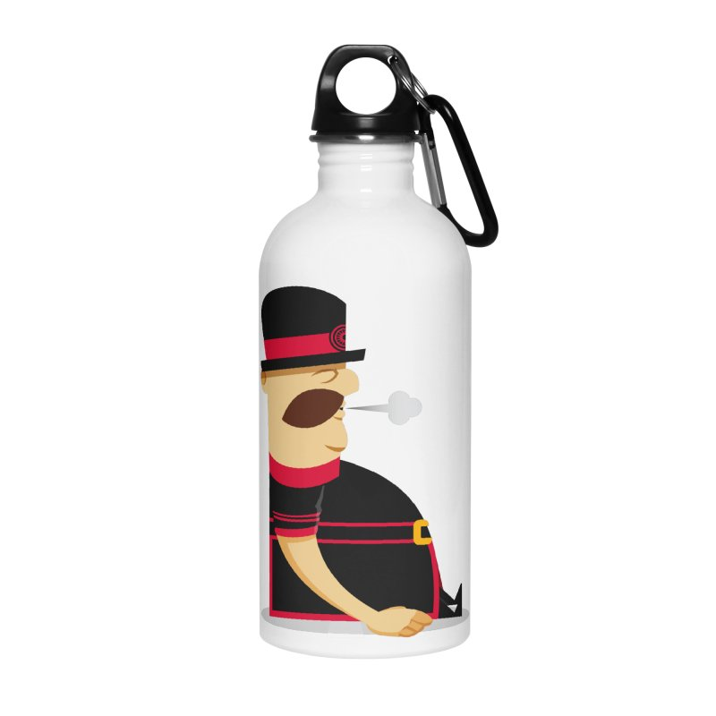 Tired Yeoman Accessories Water Bottle by Yeoman