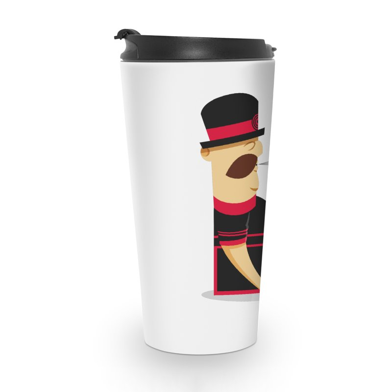 Tired Yeoman Accessories Travel Mug by Yeoman