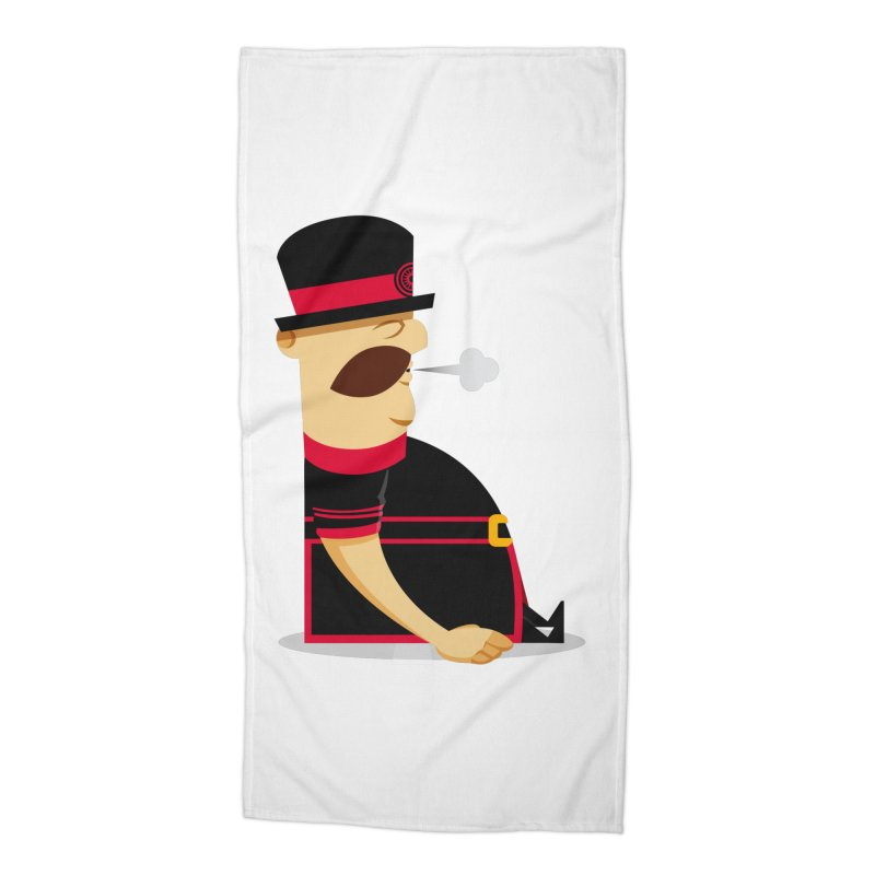 Tired Yeoman Accessories Beach Towel by Yeoman