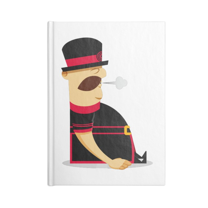 Tired Yeoman Accessories Lined Journal Notebook by Yeoman