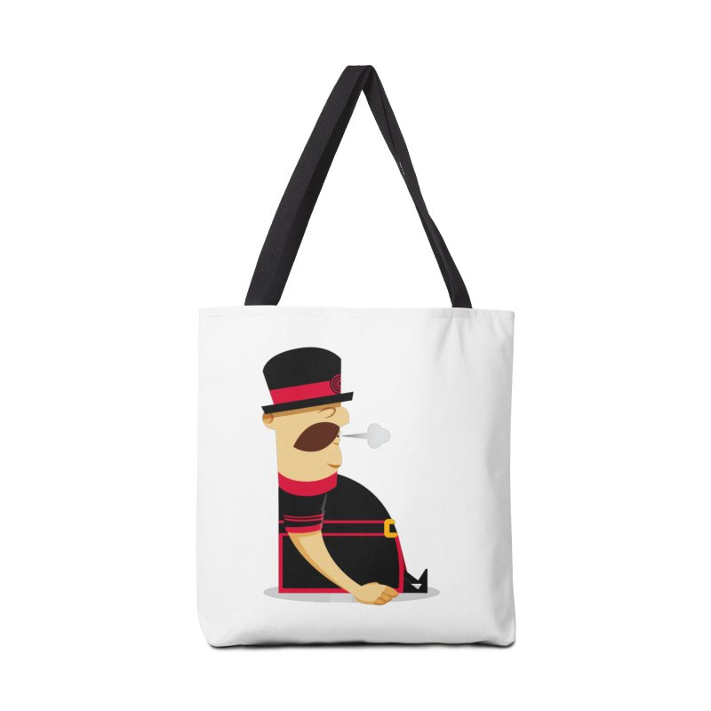 Tired Yeoman Accessories Tote Bag Bag by Yeoman