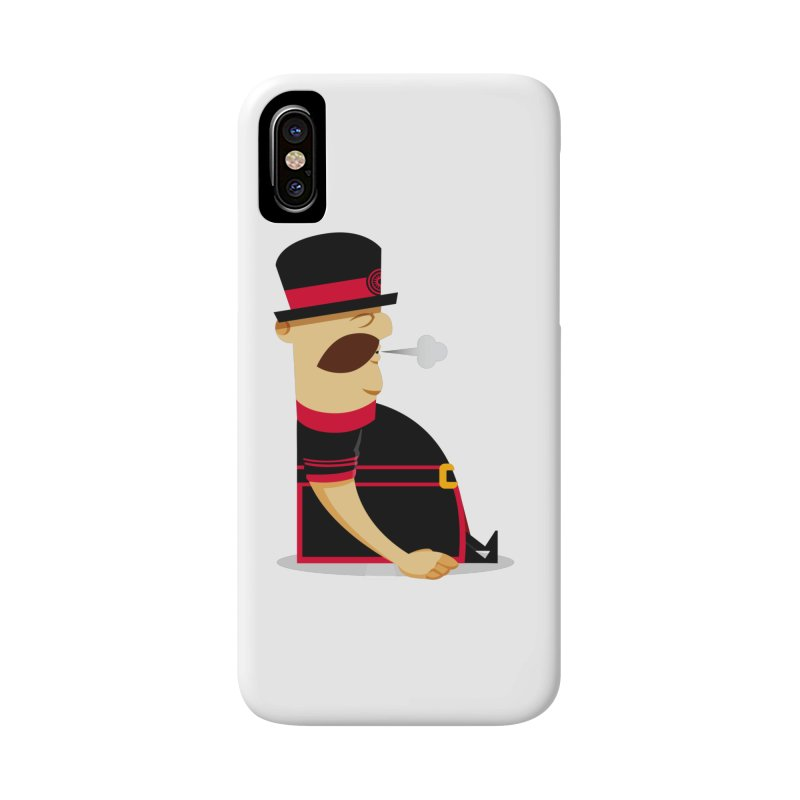 Tired Yeoman Accessories Phone Case by Yeoman