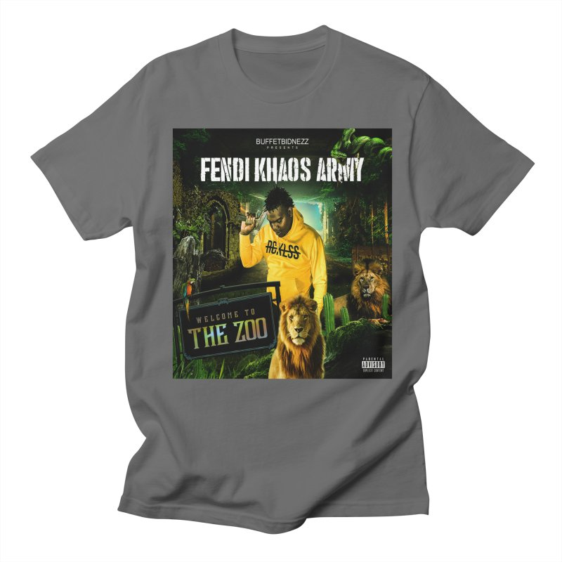 Welcome To The Zoo Men's T-Shirt by yesserent's Artist Shop