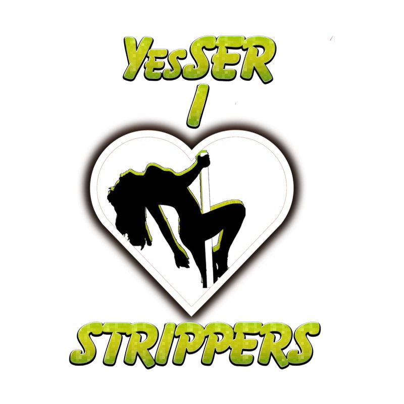 I HEART STRIPPERS Kids Pullover Hoody by yesserent's Artist Shop