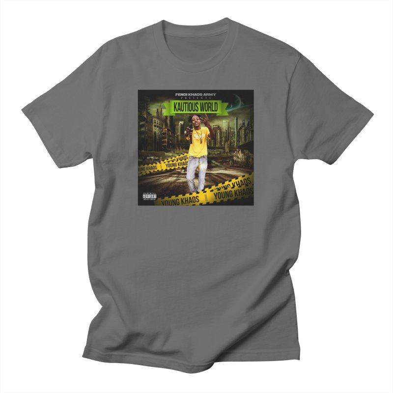 Kautious World Men's T-Shirt by yesserent's Artist Shop