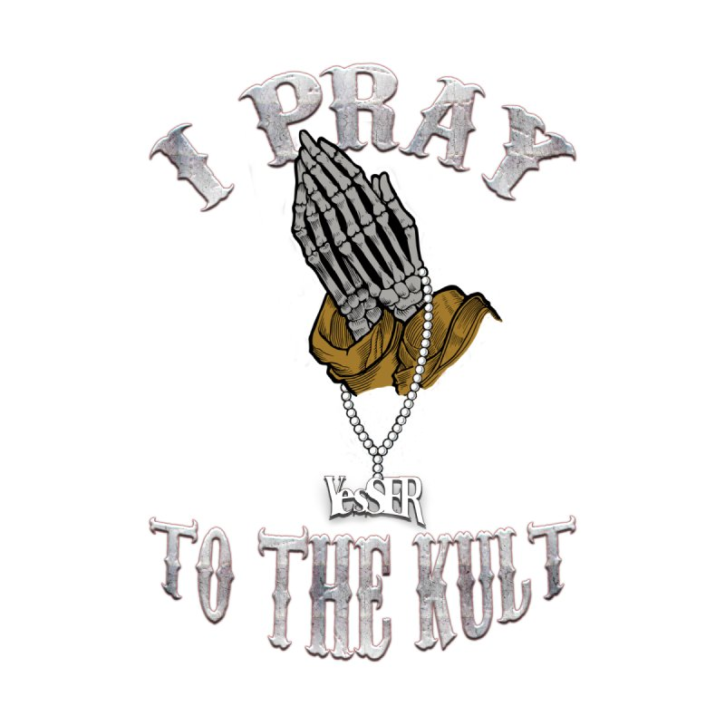 I Pray to the Kult Men's Zip-Up Hoody by yesserent's Artist Shop