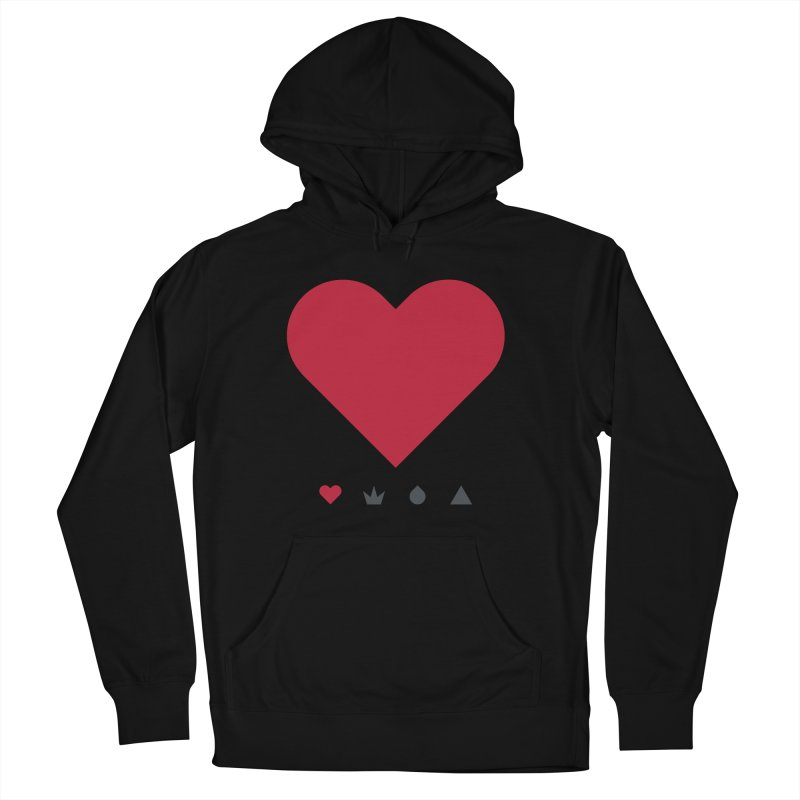 Love Men's Pullover Hoody by YesWeDo Clothing Artist Shop