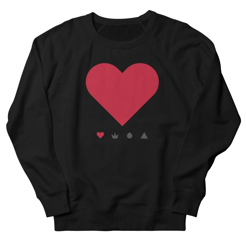 Love Men's Sweatshirt by YesWeDo Clothing Artist Shop