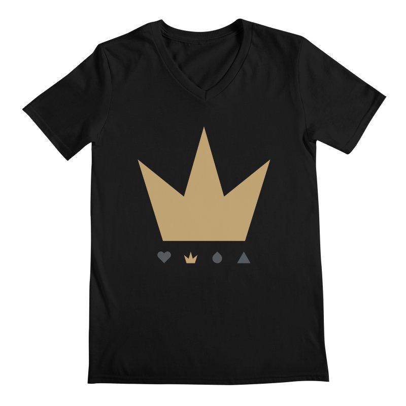 Kingdom Men's V-Neck by YesWeDo Clothing Artist Shop