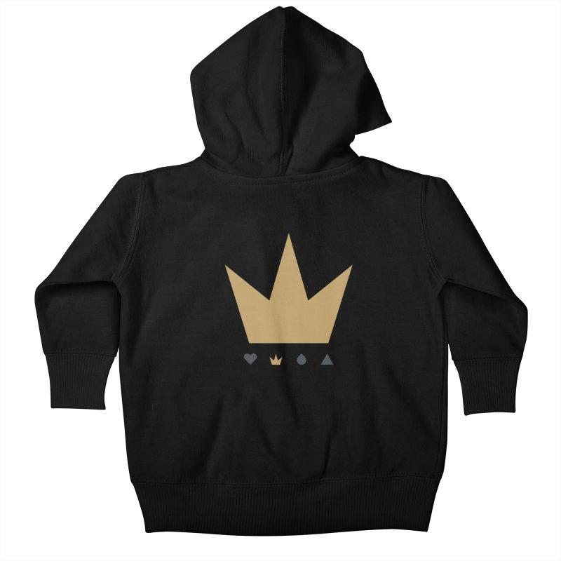 Kingdom Kids Baby Zip-Up Hoody by YesWeDo Clothing Artist Shop