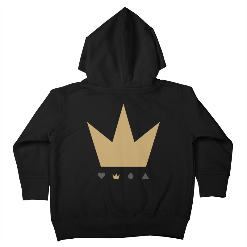 Kingdom Kids Toddler Zip-Up Hoody by YesWeDo Clothing Artist Shop