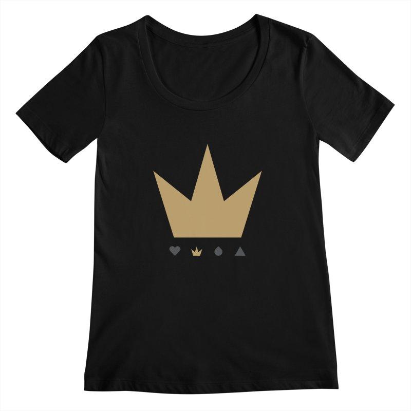 Kingdom Women's Scoopneck by YesWeDo Clothing Artist Shop