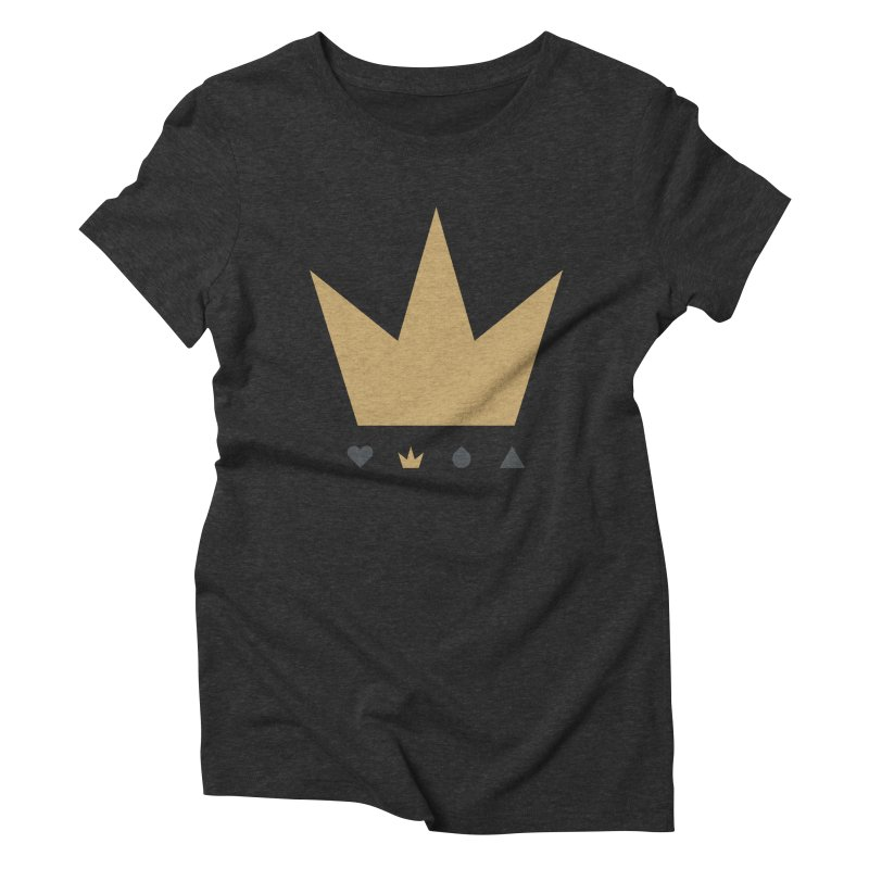 Kingdom Women's Triblend T-Shirt by YesWeDo Clothing Artist Shop