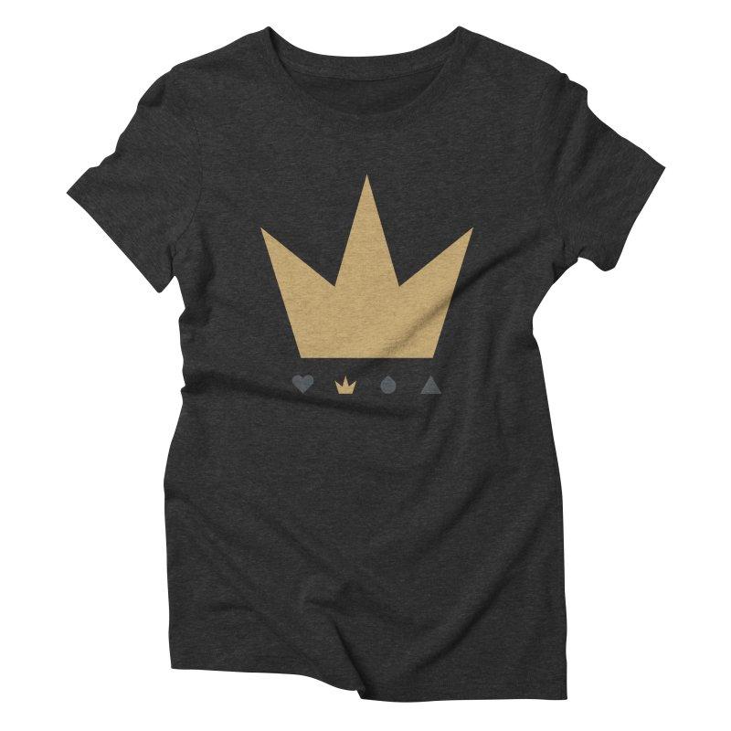 Kingdom Women's Triblend T-shirt by YesWeDo Clothing Artist Shop