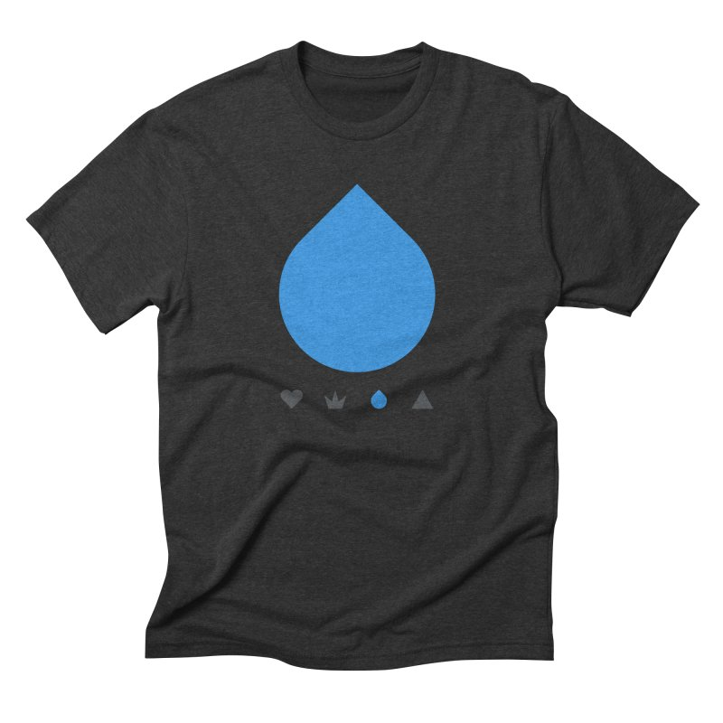 Teardrop Men's Triblend T-shirt by YesWeDo Clothing Artist Shop