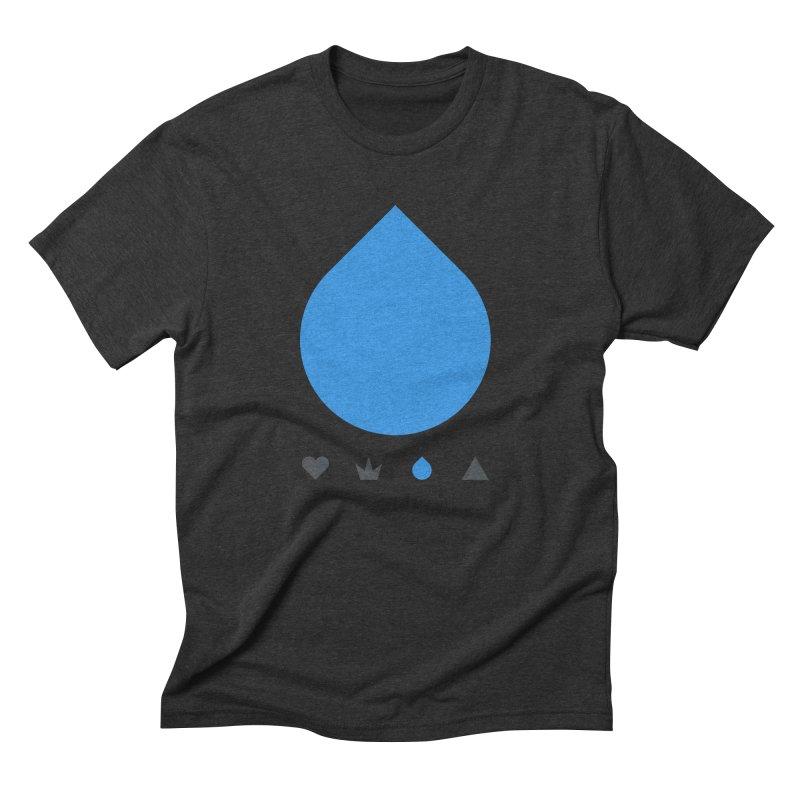 Teardrop Men's Triblend T-shirt by YesWeDo Clothing Artist Shop