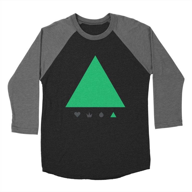 Trinity Men's Baseball Triblend T-Shirt by YesWeDo Clothing Artist Shop