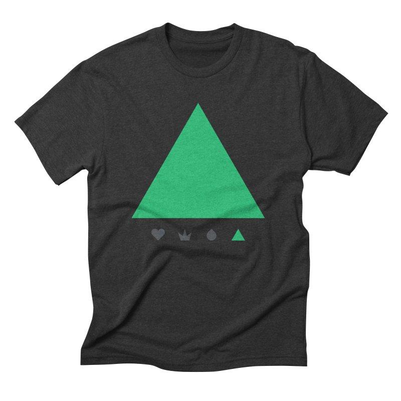 Trinity Men's Triblend T-shirt by YesWeDo Clothing Artist Shop
