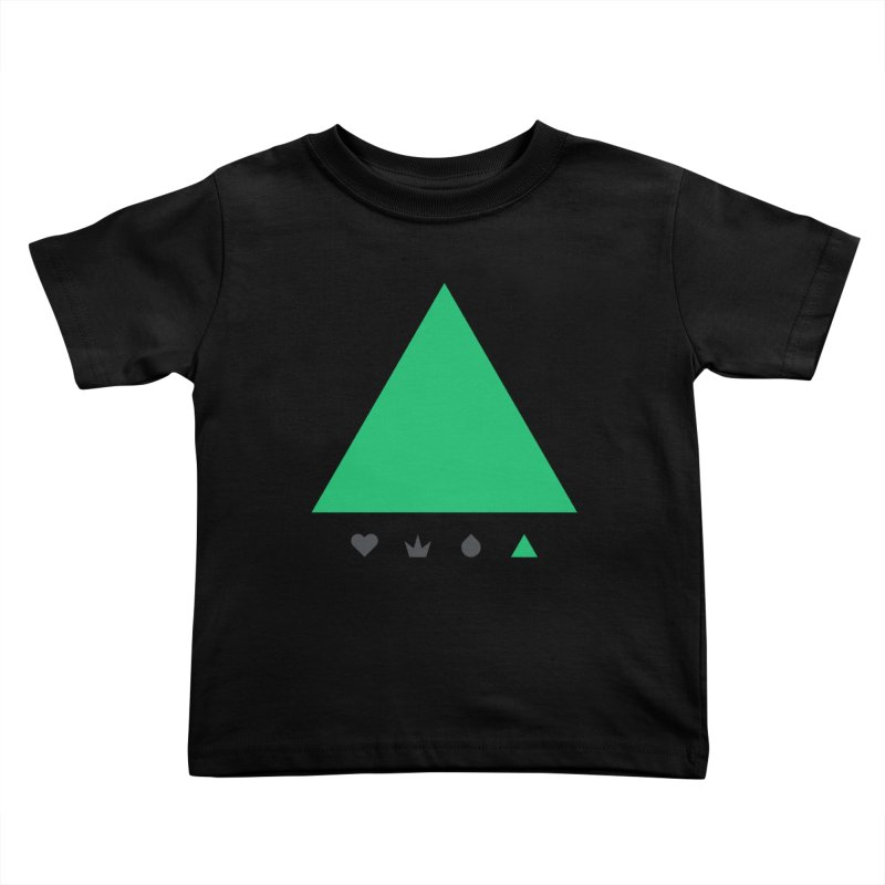 Trinity Kids Toddler T-Shirt by YesWeDo Clothing Artist Shop
