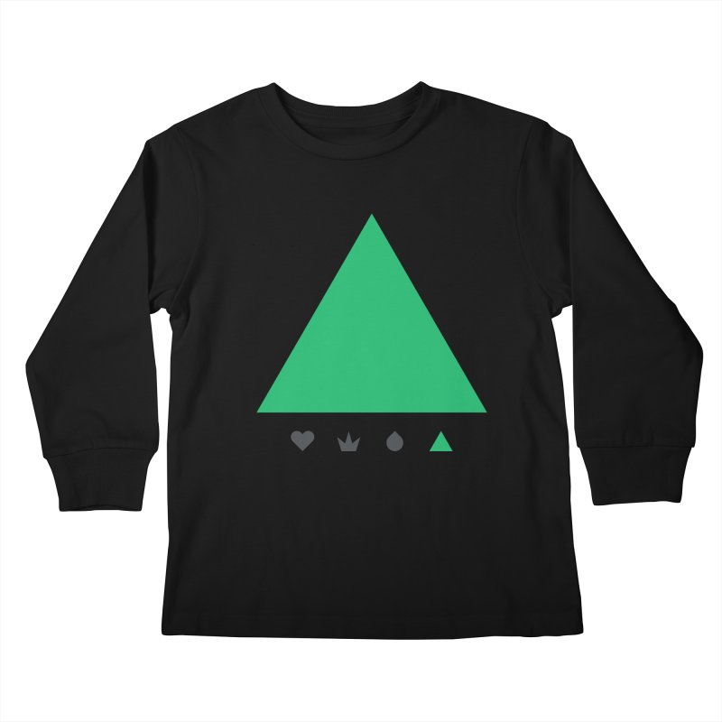 Trinity Kids Longsleeve T-Shirt by YesWeDo Clothing Artist Shop