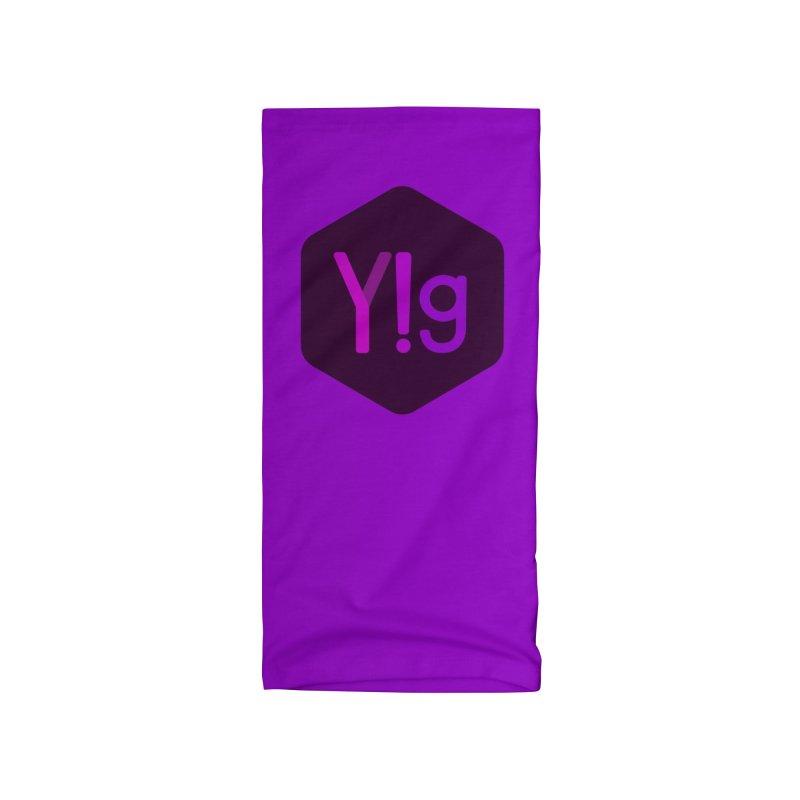 Y!g Logo Accessories Neck Gaiter by Y!gallery Merch Shop