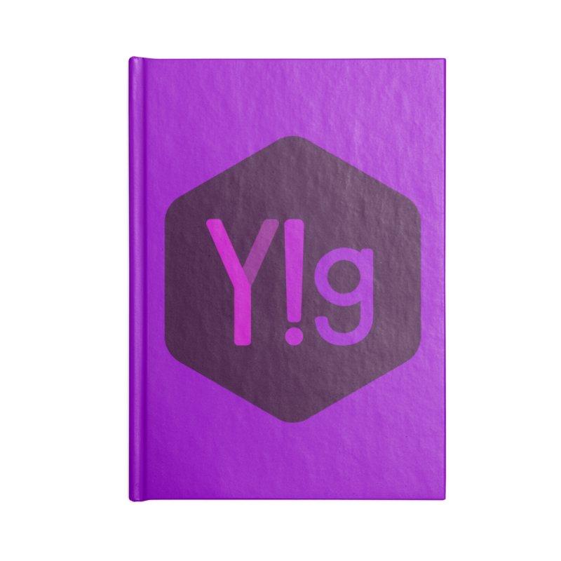 Y!g Logo Accessories Notebook by Y!gallery Merch Shop