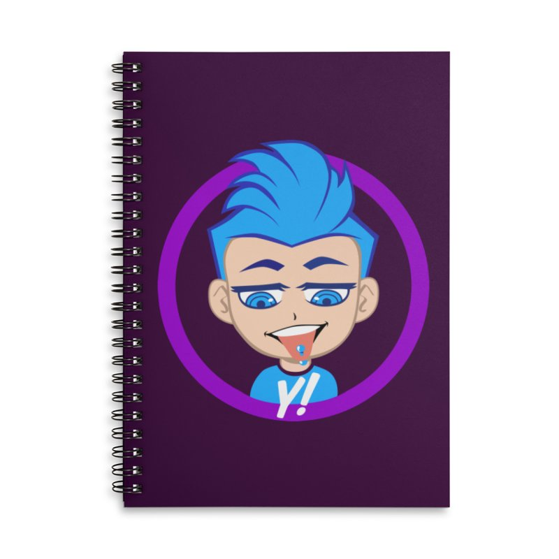 Mark - All year 'round Accessories Notebook by Y!gallery Merch Shop