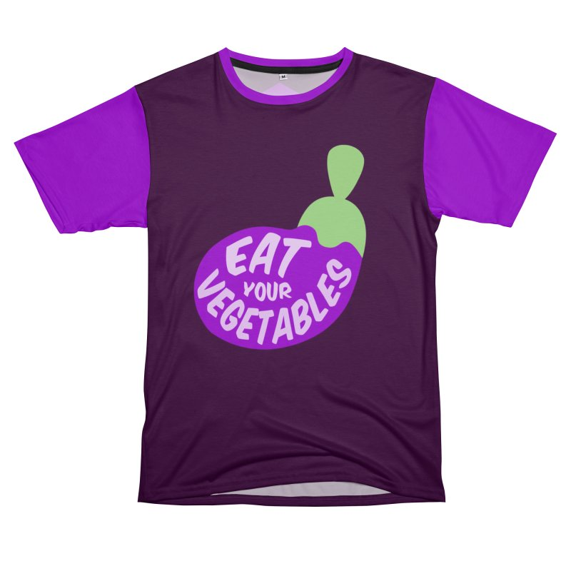 Eat your vegetables Women's Cut & Sew by Y!gallery Merch Shop