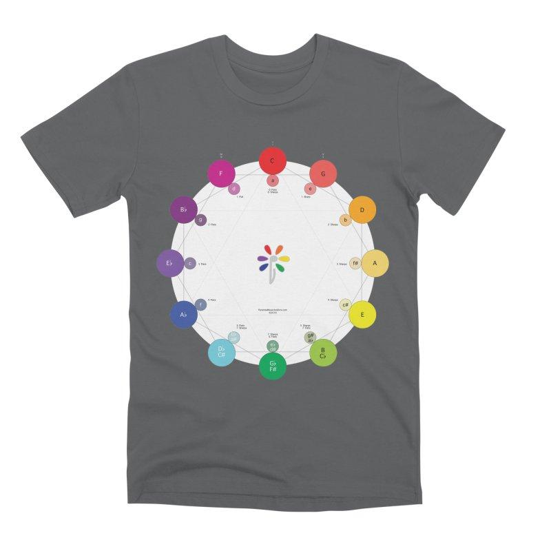 Ring of Fifths Men's Premium T-Shirt by Ygg Studios Shop