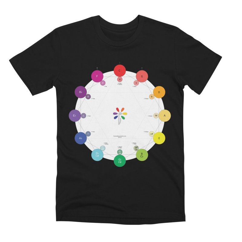 Ring of Fifths Men's Premium T-Shirt by Ygg Studios Shop