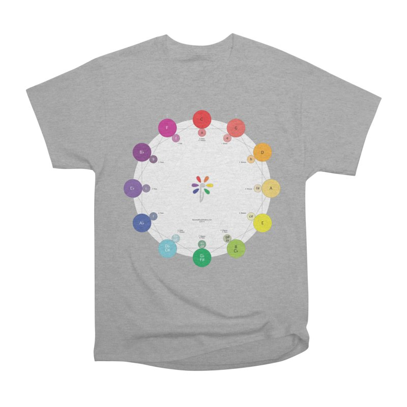 Ring of Fifths Men's Heavyweight T-Shirt by Ygg Studios Shop