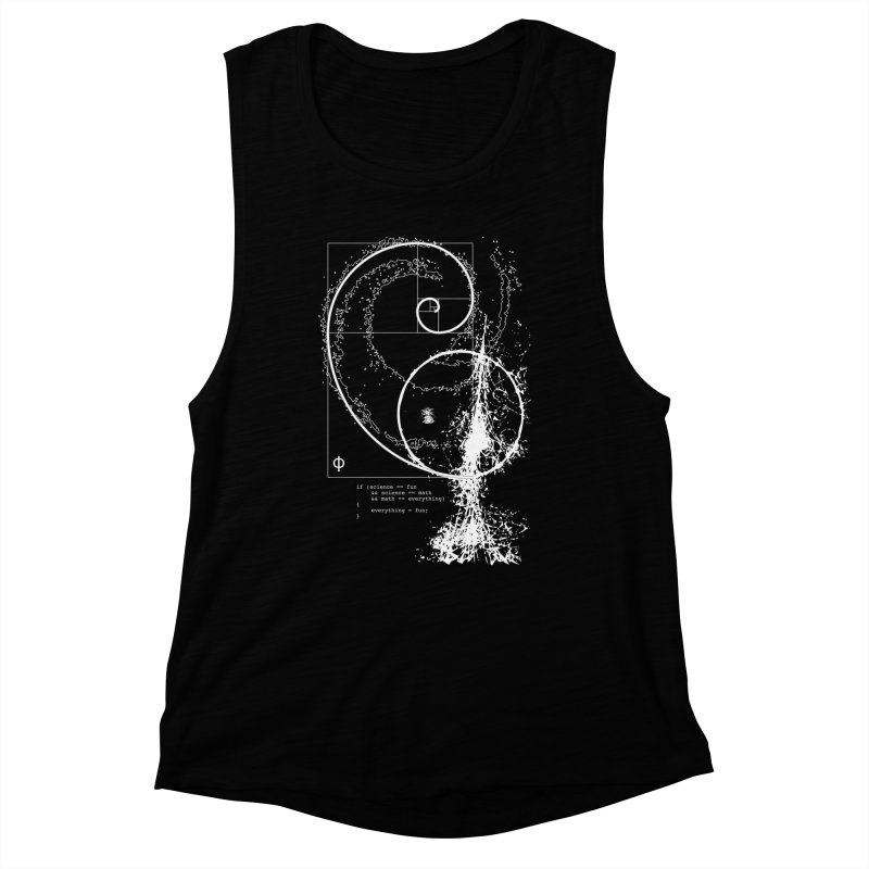 Science, Technology, Engineering, Arts, Mathematics (STEAM) Women's Muscle Tank by Ygg Studios Shop