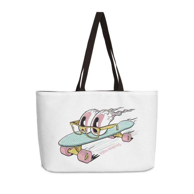 eyes-skating Accessories Weekender Bag Bag by YiannZ's Artist Shop
