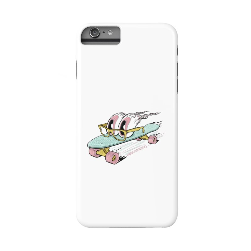 eyes-skating Accessories Phone Case by YiannZ's Artist Shop