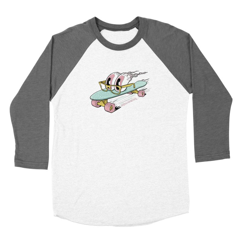 eyes-skating Women's Longsleeve T-Shirt by YiannZ's Artist Shop