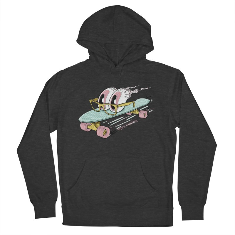 eyes-skating Women's French Terry Pullover Hoody by YiannZ's Artist Shop