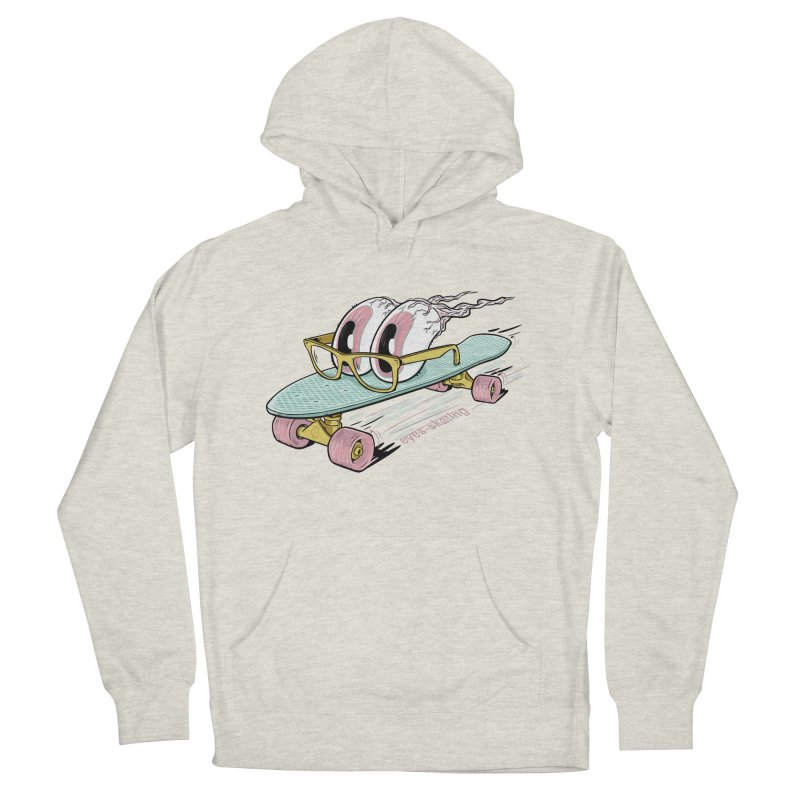 eyes-skating Men's French Terry Pullover Hoody by YiannZ's Artist Shop