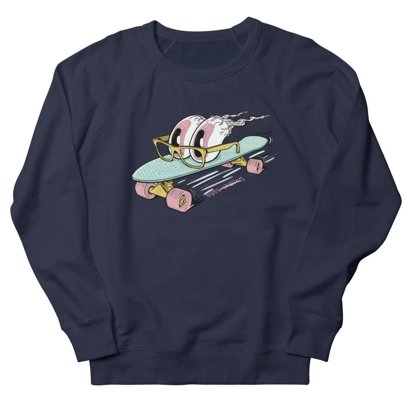 eyes-skating Men's Sweatshirt by YiannZ's Artist Shop