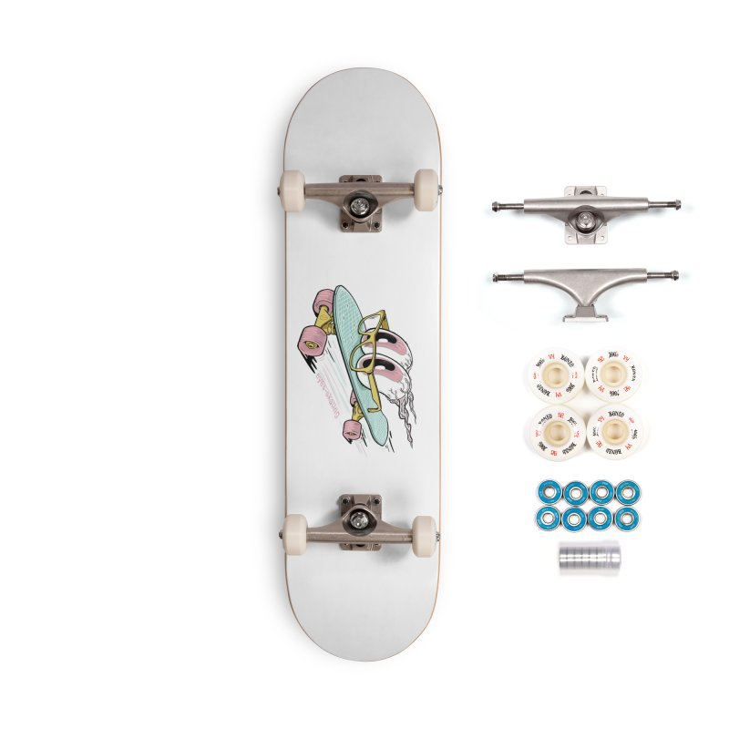 eyes-skating Accessories Complete - Premium Skateboard by YiannZ's Artist Shop