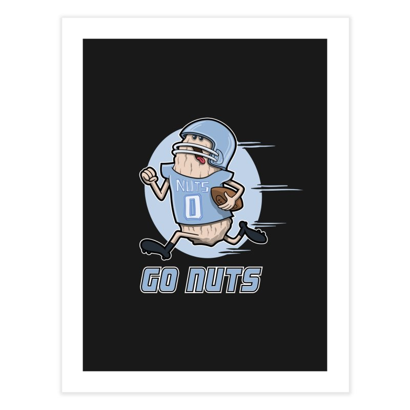 GO NUTS! Home Fine Art Print by YiannZ's Artist Shop