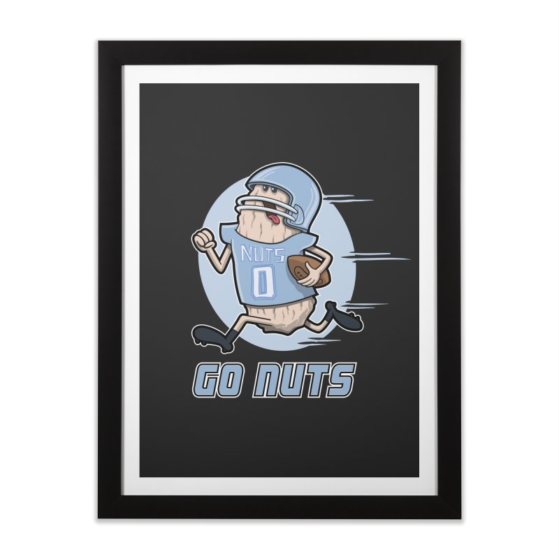 GO NUTS! Home Framed Fine Art Print by YiannZ's Artist Shop