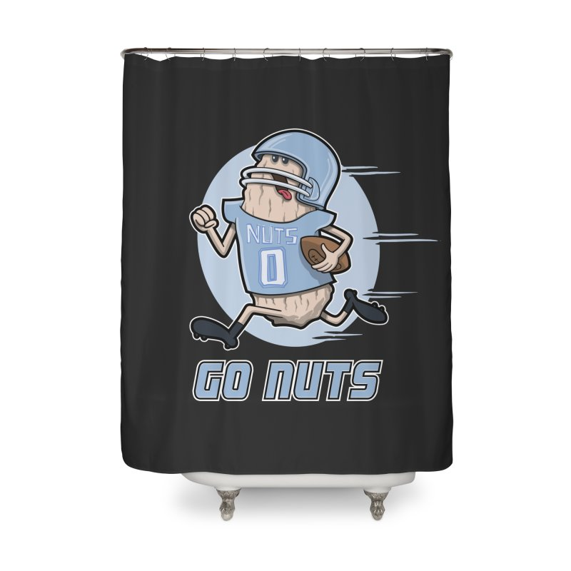 GO NUTS! Home Shower Curtain by YiannZ's Artist Shop